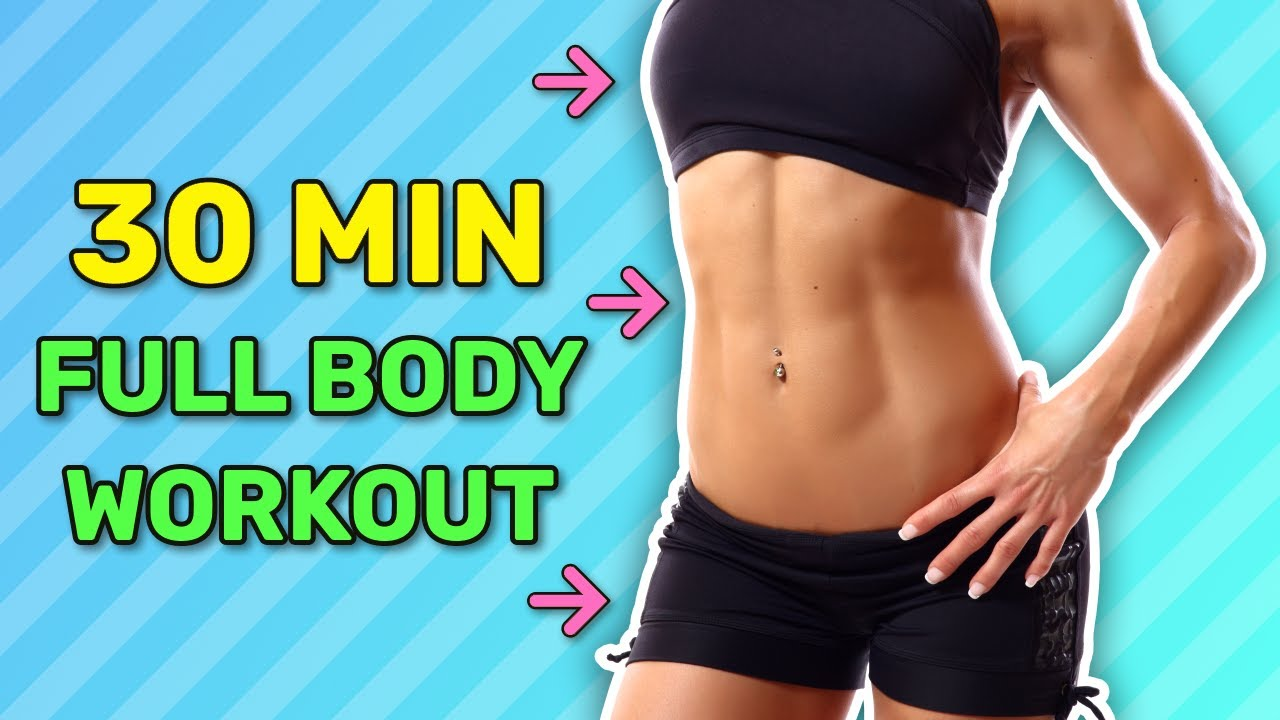 Half an Hour Full Body Workout At Home: Total Body Tone
