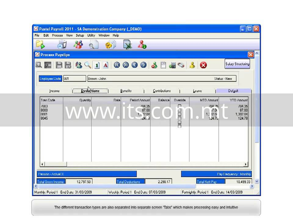 pastel payroll processing payslips youtube rh youtube com pastel partner payroll user manual Payroll Manual Cover Sheet