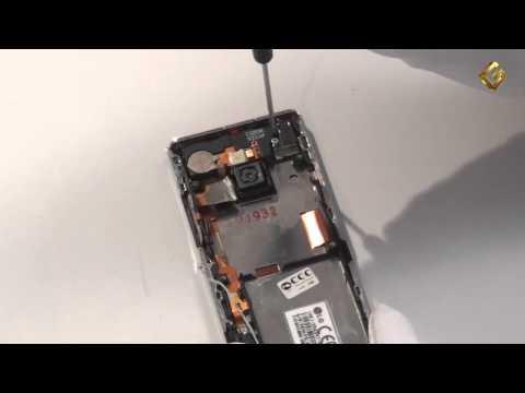 LG BL40 - как разобрать телефон и из чего он состоит