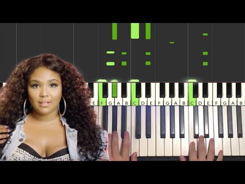 lizzo---good-as-hell-(piano-tutorial-lesson)