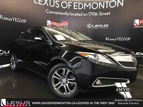 Used 2013 Black Acura ZDX AWD Tech Pkg Walkaround Review | Slave Lake Alberta