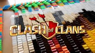 CLASH OF CLANS ALL TROOPS Dominoes AWESOME DESIGNS OF COC