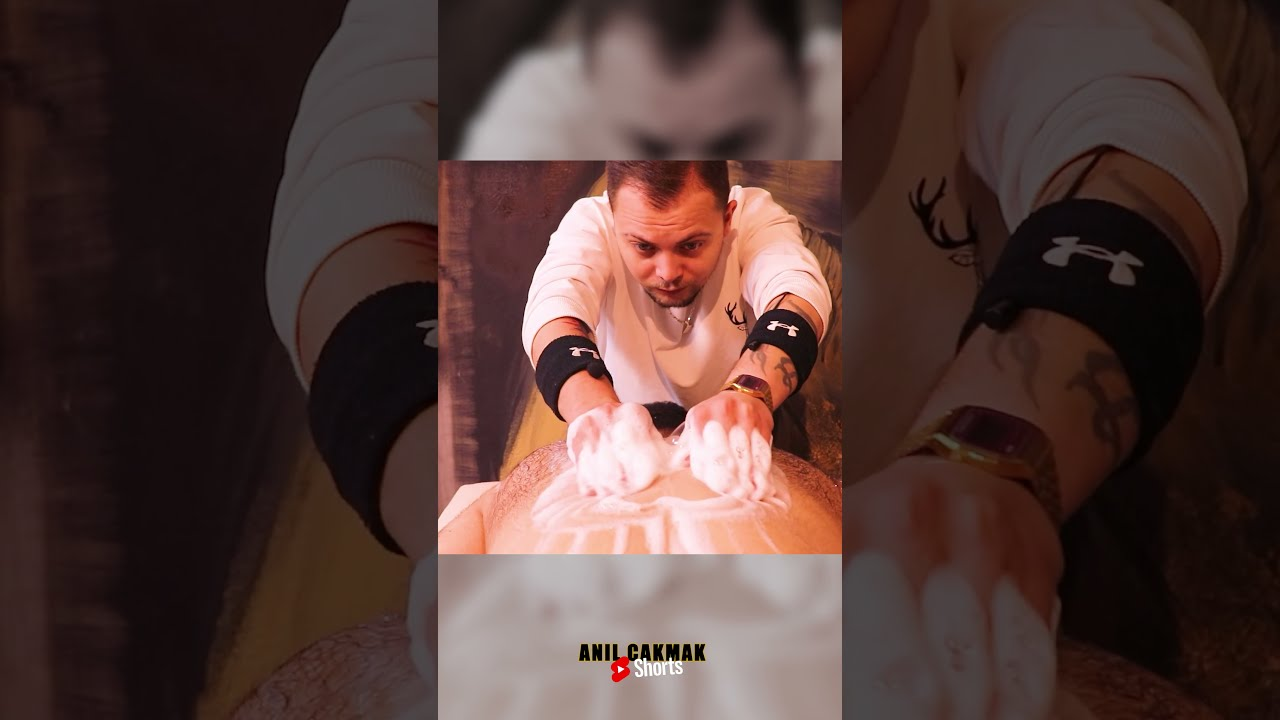 ASMR Table Massage In Barber Shop by Anil Cakmak