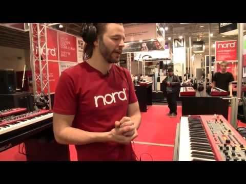 MESSE 2015: Nord Stage 2 Ex