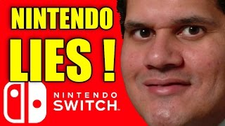 NINTENDO are LYING About the Nintendo Switch!