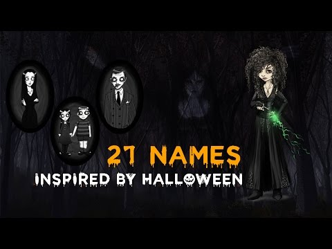 HALLOWEEN | Pet's Names Inspired By...