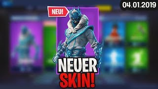 FORTNITE SHOP from 4.1 - 😧 NEW SKIN! 🛒 Fortnite Daily Item Shop (from Today) (04 January 2019) | Detu