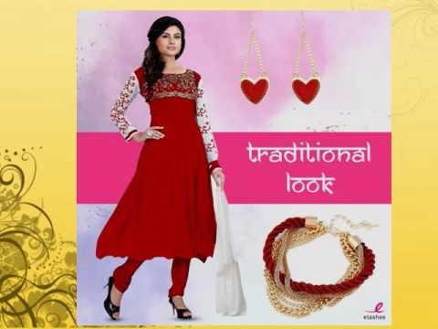 Buy Banarasi Silk Salwar Suits Online, Designer Banaras Anarkali ...
