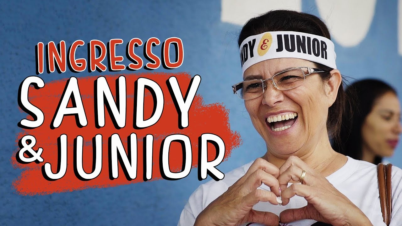 Ingresso Sandy & Júnior - DESCONFINADOS (Erros no Final)