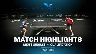 Vladimir Sidorenko vs Andreas Levenko | WTT Contender Doha 2021 | Men's Singles | QUAL Highlights