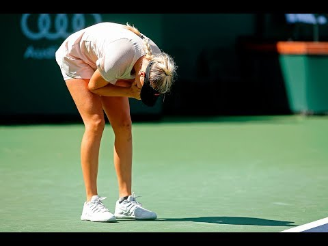BNP Paribas Open 2018: Amanda Anisimova Stuns Petra Kvitova