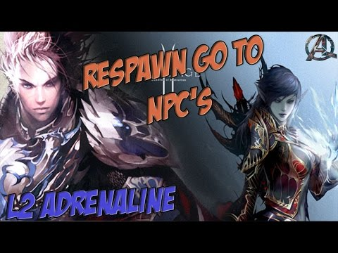 L2 ADRENALINE BOT - SCRIPT AUTO FARME + Respawn go to NPC's - YouTube