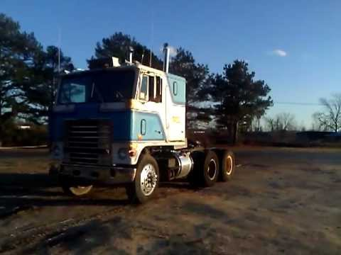 Wt 9000 Ford Cabover Youtube