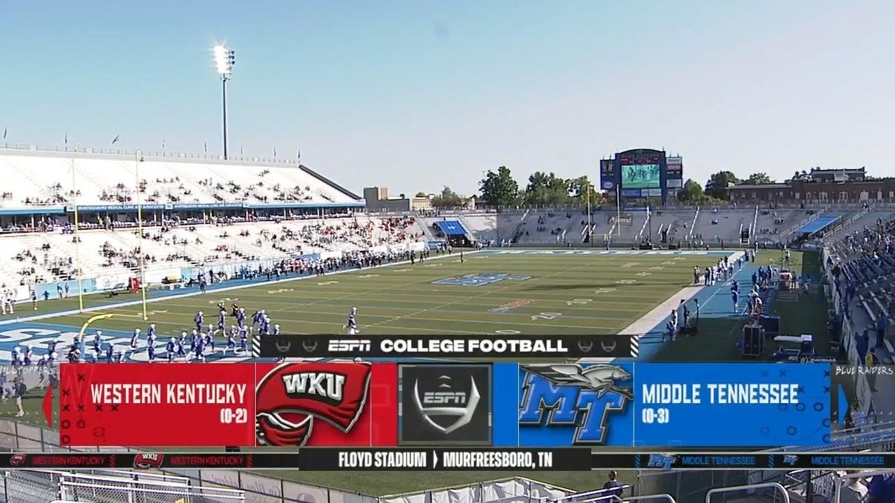 2020-10-03 Western Kentucky @ MTSU