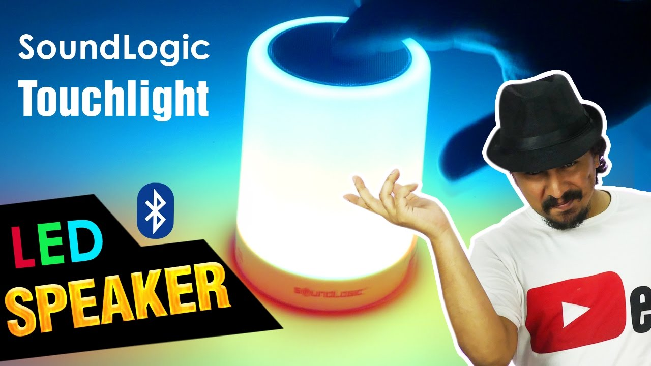 Soundlogic Touchlight - Cool Budget Bluetooth Speaker