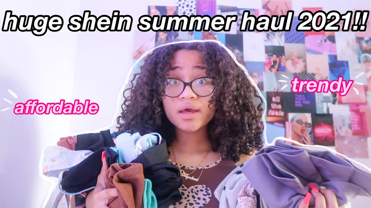 Download HUGE SHEIN SUMMER HAUL 2021!! *trendy and affordable*