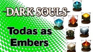 Dark Souls: Localização de Todas as Embers