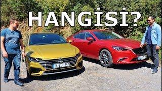 VW Arteon vs Mazda6 - Hangisi?