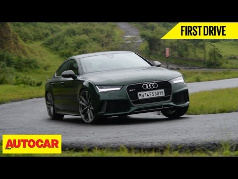 Audi RS7 Sportback Performance | First Drive | Autocar India