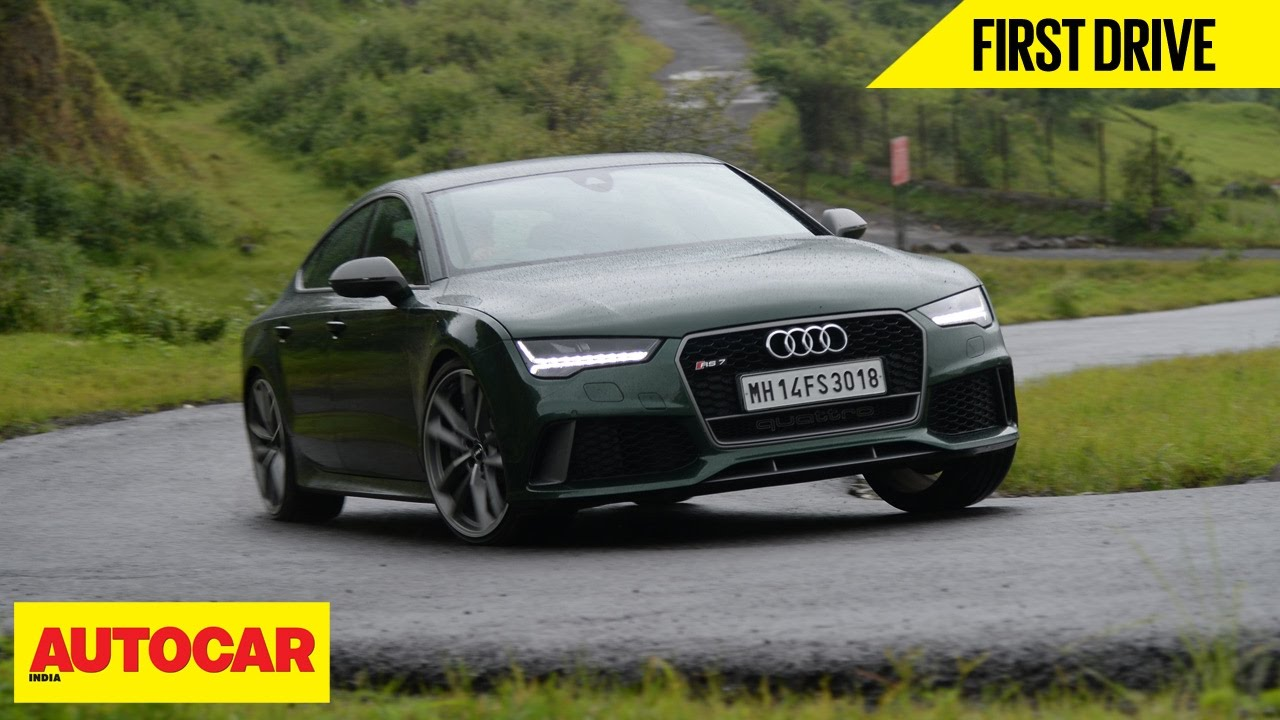 Audi Rs7 Sportback Performance First Drive Autocar