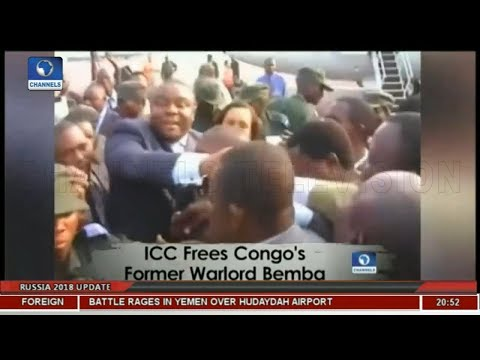 ICC Frees Congo's Former Warlord Bemba |Africa 54|