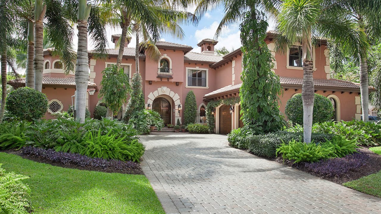 801 Harbour Isle Place Palm Beach Gardens FL 33410 - YouTube