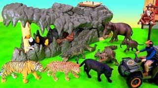 NEW Wild Animals Schleich Wild Life Jungle Playset Wild Animals Zoo Animals