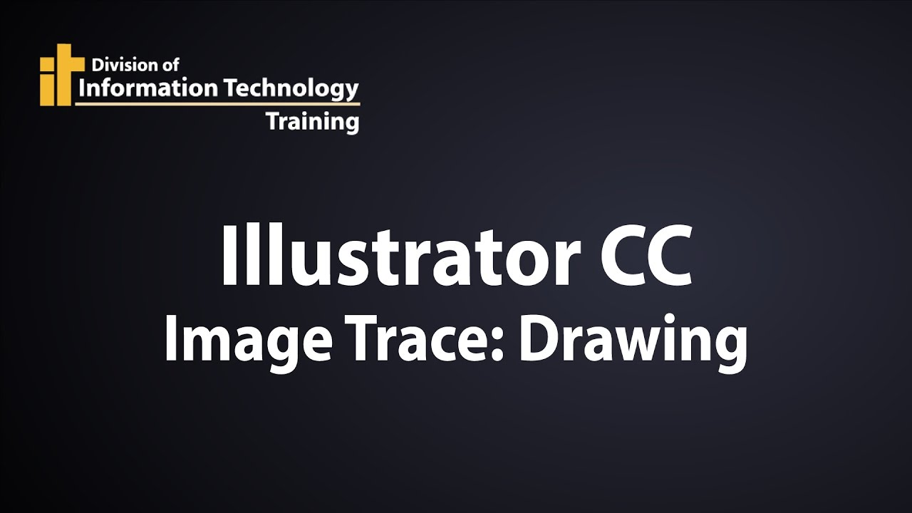 How To Smooth Drawing Lines In Illustrator : Illustrator cc how to image trace a technical drawing or