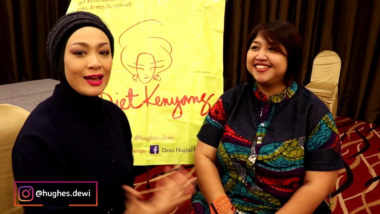 Tips Diet Ala Dewi Hughes Turunkan Berat Badan Sampai 75 Kg