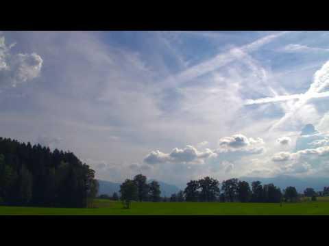 Chemtrails Timelapse | Penzberg, Germany 10.09.2016