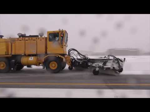 Air Force Vehicle & Snow Control Manager Assists Hill AFB Snow Removal Challenges