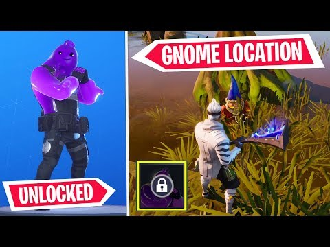 Fortnite HOW TO GET PURPLE RIPPLEY Style (Location & Unlock Guide) *Search The Hidden Gnome*