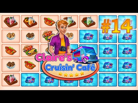 Claire's Cruisin' Cafe | Gameplay (Level 34 to 35) - #14 |
