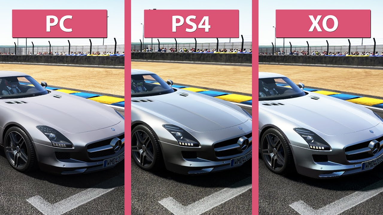 project cars pc vs ps4 vs xbox one graphics compari doovi. Black Bedroom Furniture Sets. Home Design Ideas