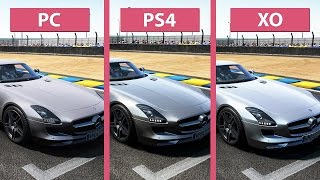 Project Cars – Pc Vs. Ps4 Vs. Xbox One Graphics Comparison [60fps][fullhd|1080p]