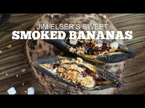 Jim Elser's Sweet Smoked Bananas