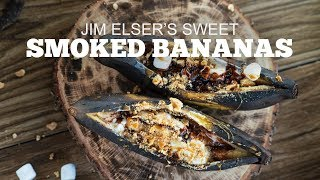 Jim Elser's Sweet Smoked Bananas