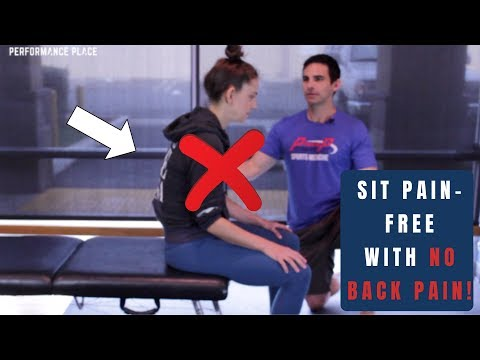 No More Back Pain Sitting in 5 EASY STEPS