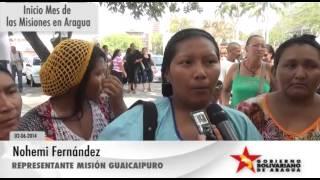 MES DE LAS MISIONES   TESTIMONIO REPRESENTANTE MISIÓN GUAICAIPURO