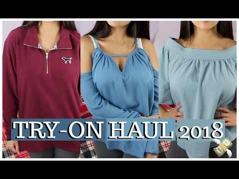TRY-ON HAUL 2018 (Forever 21, Aeropostale, PINK) ♡// Love Lei