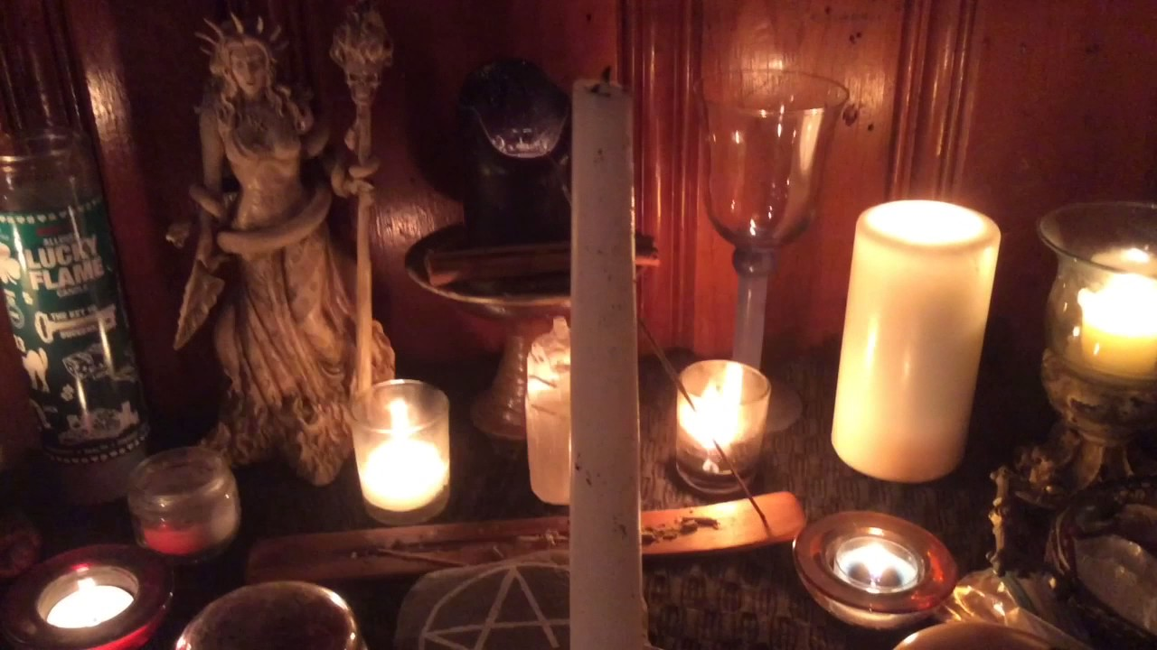 how to make spell candles