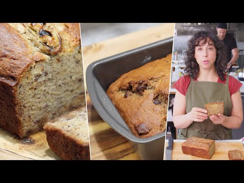 I Tested EVERYONES Banana Bread- Bon Appétit, Food Wishes, Sam the Cooking Guy & MY OWN!