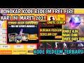 BONGKAR‼3 KODE REDEEM FREE FIRE TERBARU HARI INI MARET-APRIL 2021