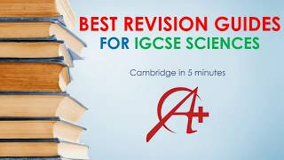 TOP Revision Guides For IGCSE Bio/Chem/Physics