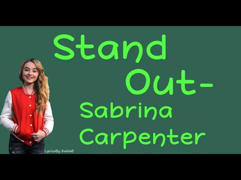 Stand Out (With Lyrics) - Sabrina Carpenter