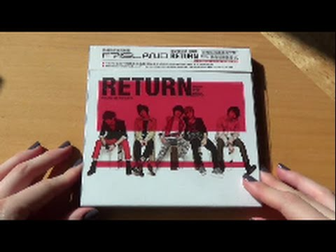 Unboxing FT Island 애프티아일랜드 3rd Korean Mini Album Return (Taiwan Limited Edition)