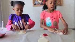 ✿‿✿ Cute Kids Show You How To Make Cherry Pie-pops 🍴