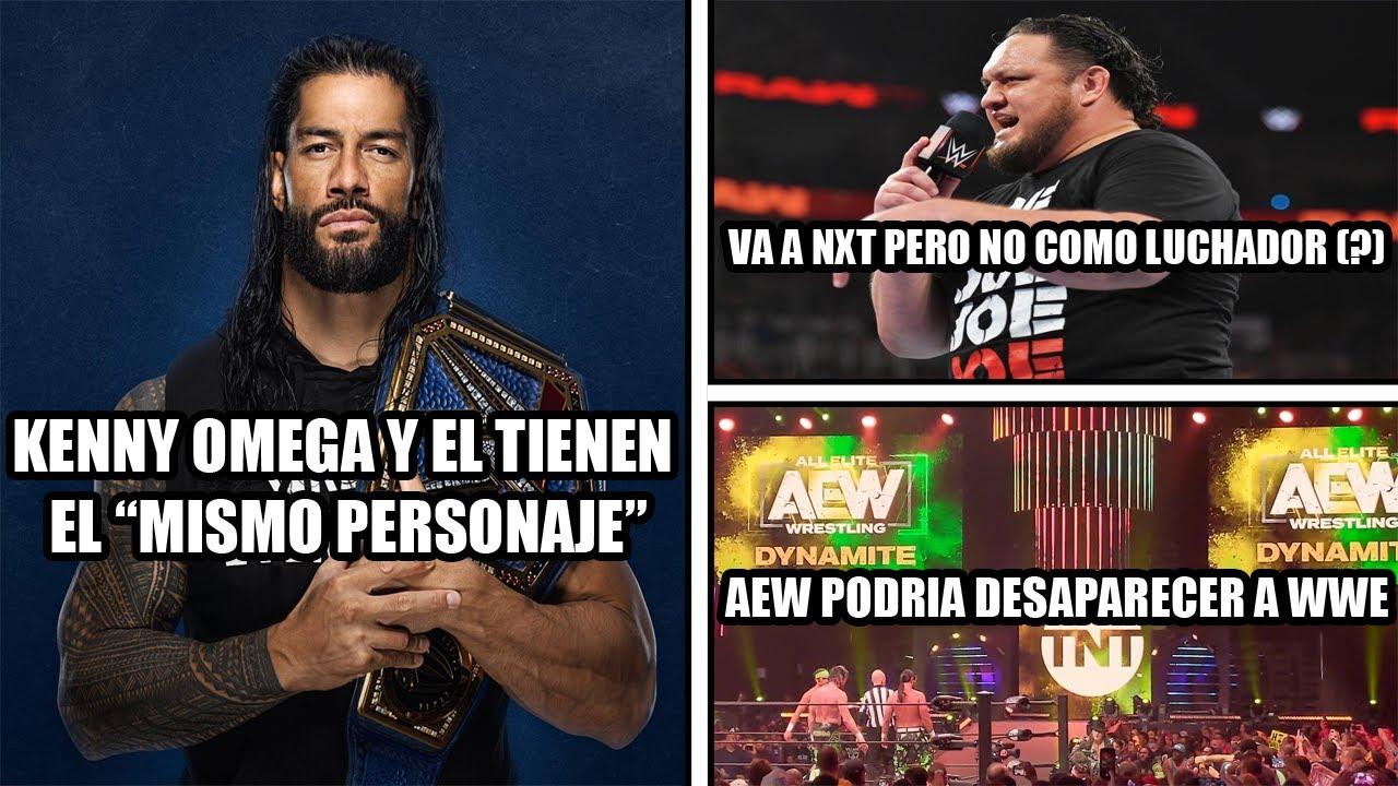 WWE está siendo destrozada por AEW * Samoa Joe en NXT confunde a los fans * Román heel cobarde