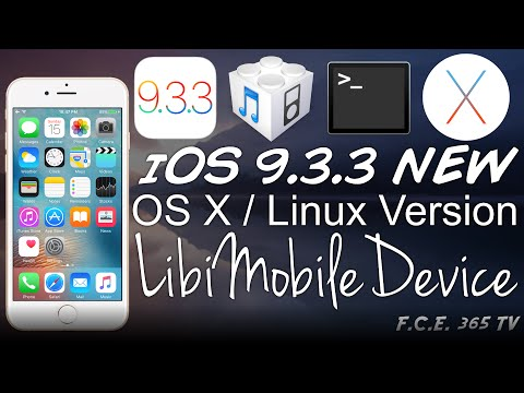 iOS 9.3.3 - Linux & OS X New LibiMobileDevice Version for iPhone 6S, 6 and 5S (x64)