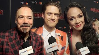 Here's What Baz Luhrmann Wants To Ask Aaron Tveit, Karen Olivo, And The Cast Of ''Moulin Rouge!''